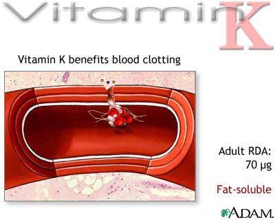 Vitamin K untuk pembekuan darah